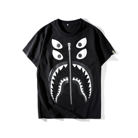 Monster Solid!Short Sleeve T-shirt, Unisex Tees, Couple's T-shirt, Street Fashion Tee-TownTiger