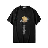 Planets series!Short Sleeve T-shirt, Unisex Tees, Couple's T-shirt, Street Fashion Tee Shirt