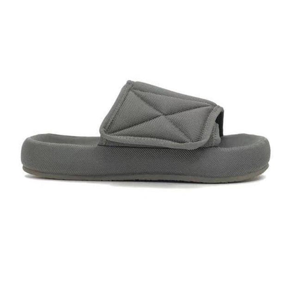 Season 6! Gray Unisex Nylon Slipper Sandals, Couples' Sandals Water-Proof Slipper-TownTiger