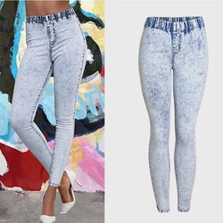 Snow Skinny!Blue Jeans, Denim, Bottoms, Women Jeans, Femme Bottoms, Pants Trousers-TownTiger