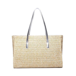 Straw Big Tote! Handmade Straw Braied Tote, Holiday Style Tote, Hand Braid Straw Bags, Beach Bags-TownTiger