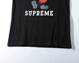 Supreme x Classic Mickey! Short Sleeve T-shirt, Unisex Tees, Couple's T-shirt, Street Fashion Tee Shirt-TownTiger