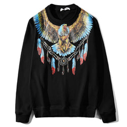 The Indian Eagle! Long Sleeve Sweatshirt, Unisex Tops, Unisex T-shirt, Sweater