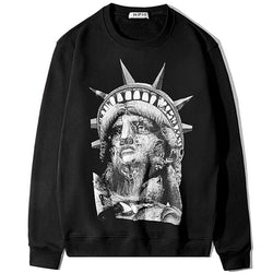 the Liberty with Wolves! Long Sleeve Sweatshirt, Unisex Tops, Unisex T-shirt, Sweater Tee