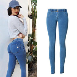 Tight! Blue Jeans, Denim Skinny, Bottoms, Women Skinny Jeans, Femme Bottoms, Fit Pants-TownTiger
