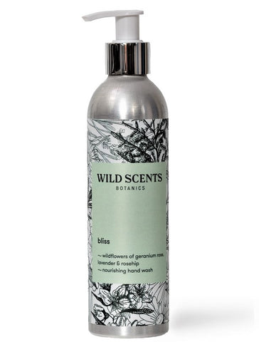 bliss ~ wildflowers hand wash