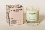 wild ~ woodland scented candle handcrafted by Wild Scents Botanics