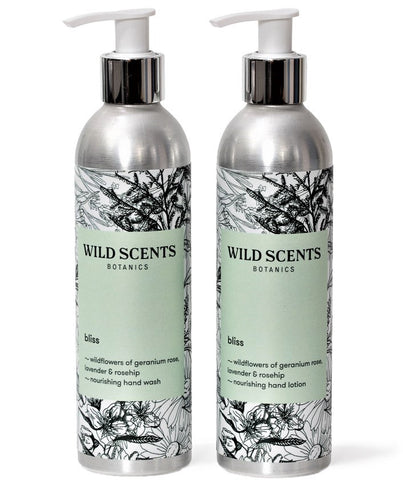 bliss ~ wildflowers hand duo