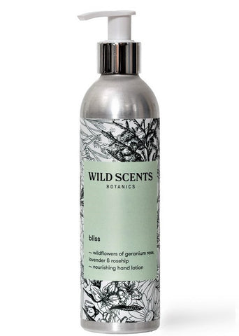 bliss ~ wildflowers hand lotion
