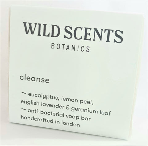 cleanse anti-bacterial soap ~ handcrafted by Wild Scents Botanics