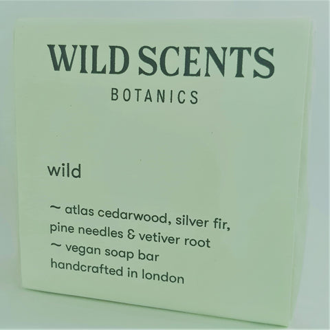 wild vegan soap ~ handcrafted by Wild Scents Botanics