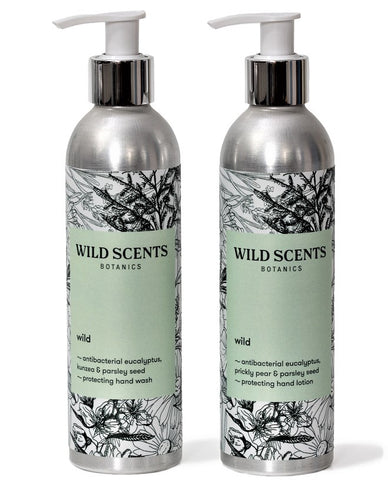 wild ~ hand wash & lotion duo