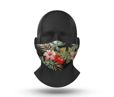 hawaiian facemask front view