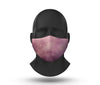 purple sky facemask front view