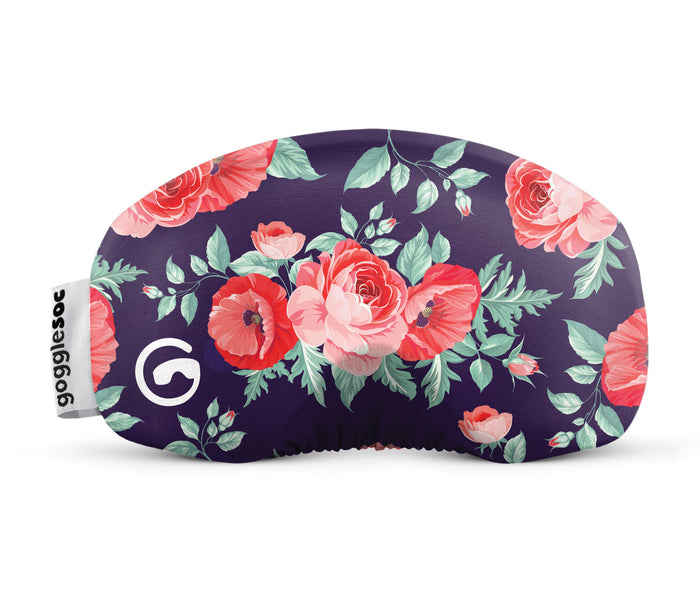 roses gogglesoc goggle cover gogglesock goggle sock floral goggle cover microfibre microfiber goggle protector protection