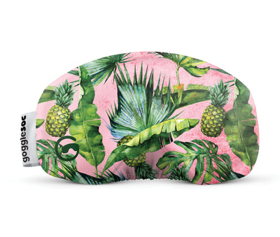 tropical gogglesoc goggle cover gogglesock goggle sock fruity goggle cover microfibre microfiber goggle protector protection