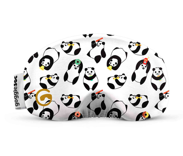 panda gogglesoc goggle cover gogglesock goggle sock wild goggle cover microfibre microfiber goggle protector protection