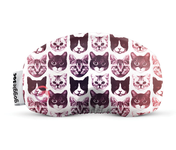 rave cat gogglesoc goggle cover gogglesock goggle sock wild goggle cover microfibre microfiber goggle protector protection