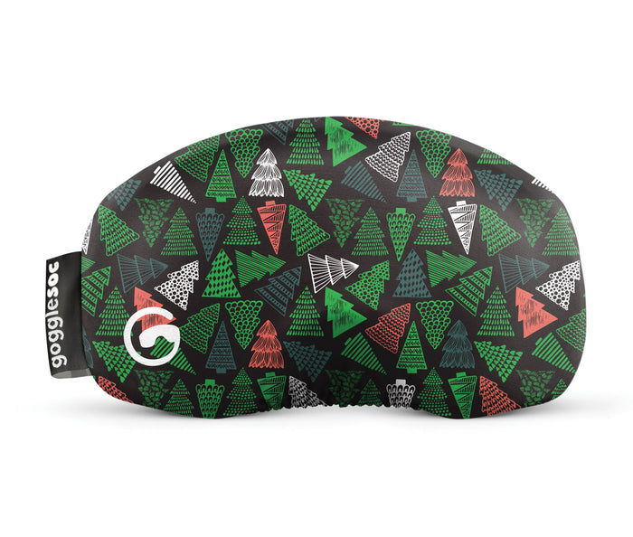 evergreen gogglesoc goggle cover gogglesock goggle sock limited edition christmas goggle cover microfibre microfiber goggle protector protection
