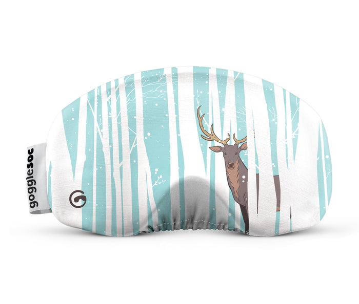 deer gogglesoc goggle cover gogglesock goggle sock wild goggle cover microfibre microfiber goggle protector protection