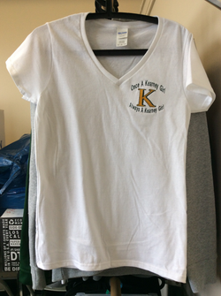 Once a Kearney Tee Shirt - White / Gray