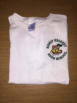 Children's White Embroidered T-Shirt