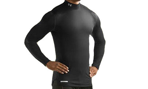 Mens Under Armour ColdGear Fitted Mock
