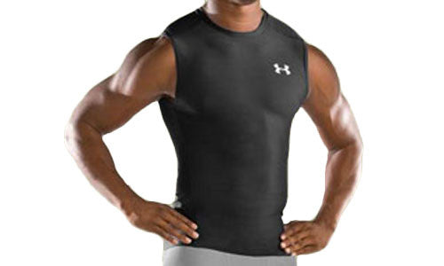 Mens Under Armour HeatGear Sleeveless T