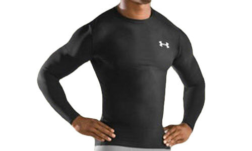 Mens Under Armour HeatGear Long Sleeve