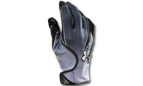 Football Gloves: Under Armour Blur Black
