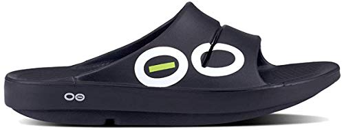 OOFOS - Post Exercise Active Sport Recovery Slide Sandal Black