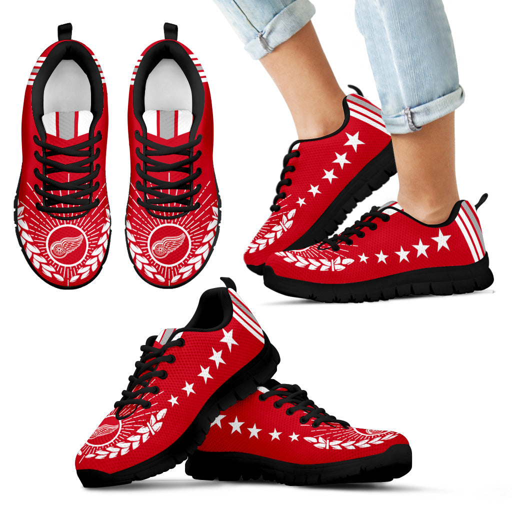 Line Of Stars Victory Detroit Red Wings Sneakers