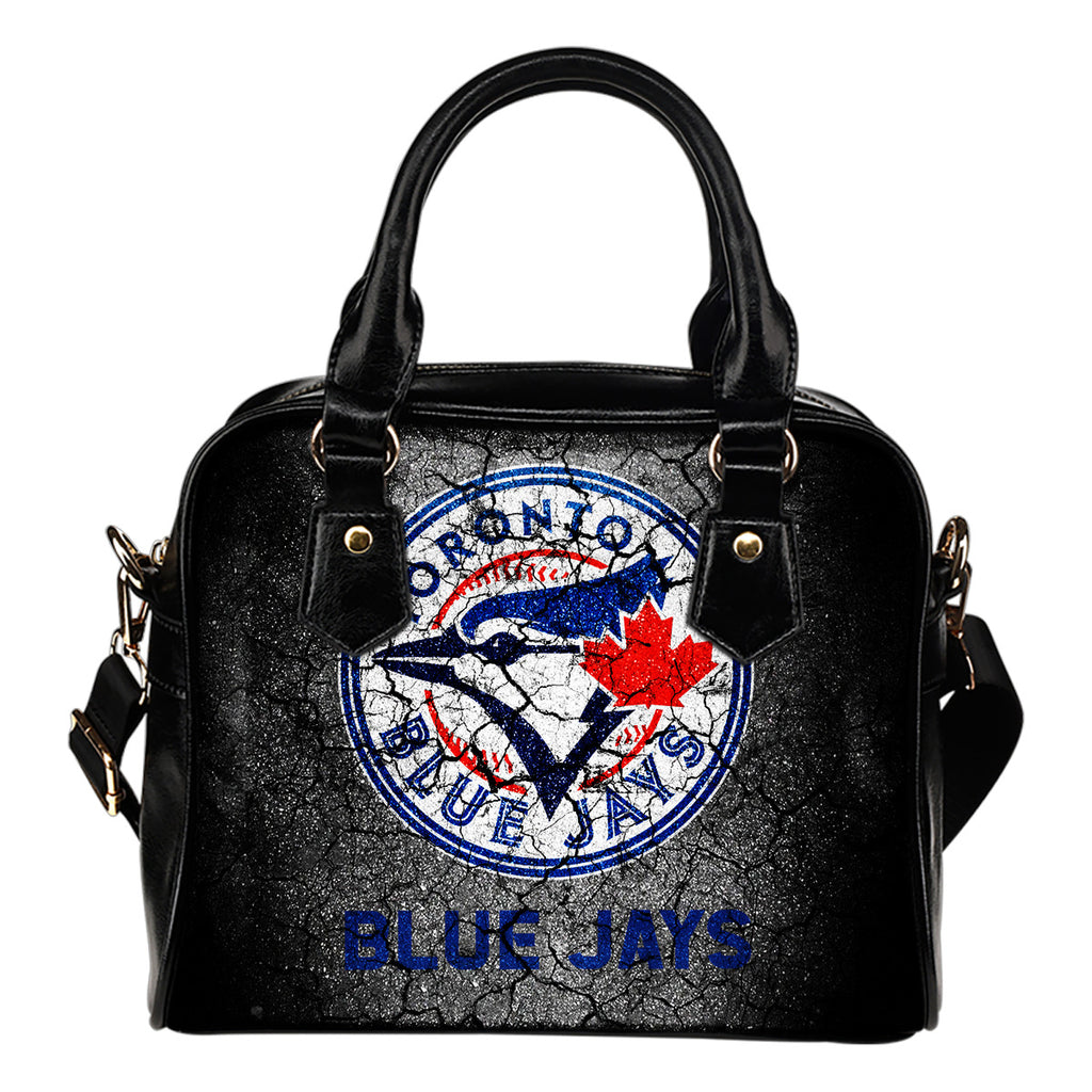 Wall Break Toronto Blue Jays Shoulder Handbags Women Purse
