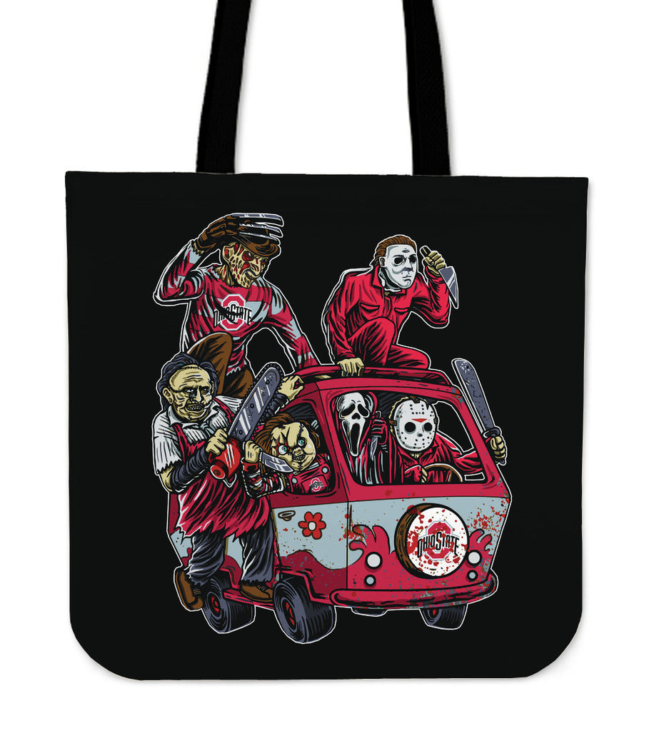 Ohio State Buckeyes The Massacre Machine Tote Bag - Best Funny Store