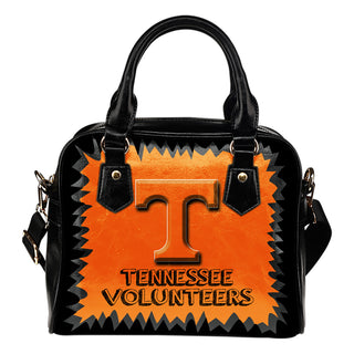 Jagged Saws Mouth Creepy Tennessee Volunteers Shoulder Handbags