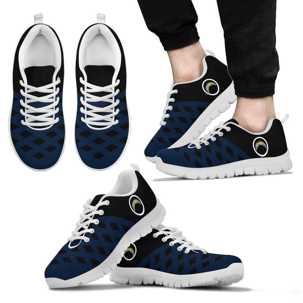 Two Colours Cross Line Los Angeles Chargers Sneakers