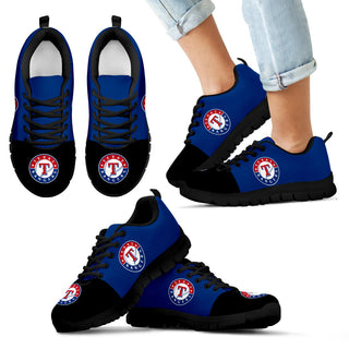 Two Colors Aparted Texas Rangers Sneakers