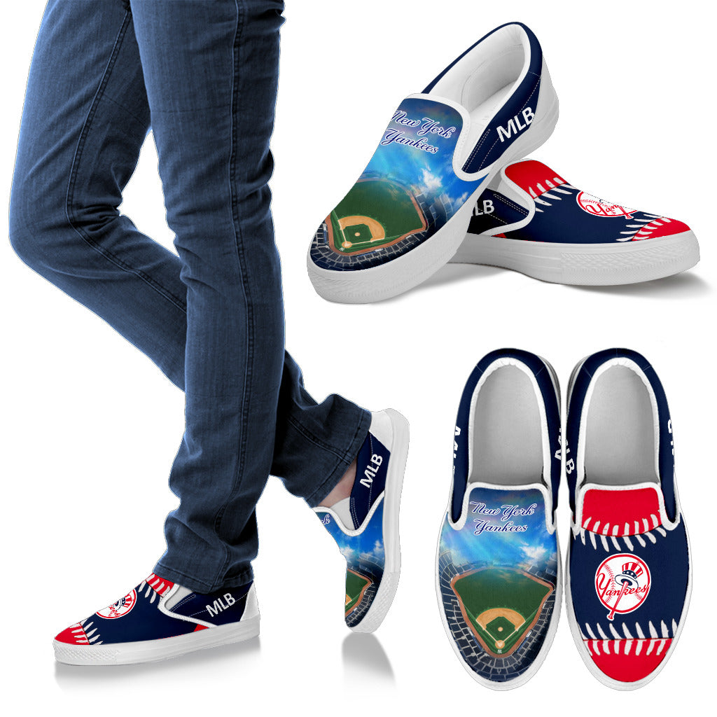 Proud Of Stadium New York Yankees Slip-on Shoes