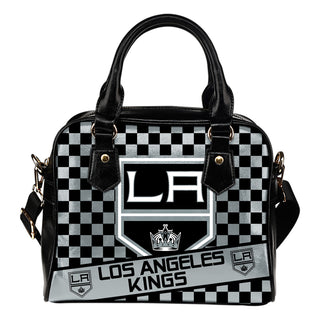 Different Fabulous Banner Los Angeles Kings Shoulder Handbags