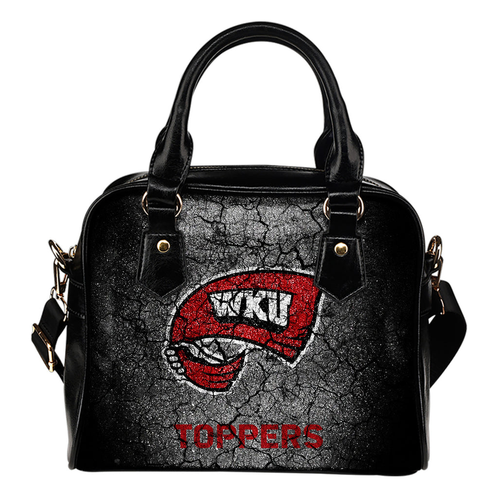 Wall Break Western Kentucky Hilltoppers Shoulder Handbags Women Purse
