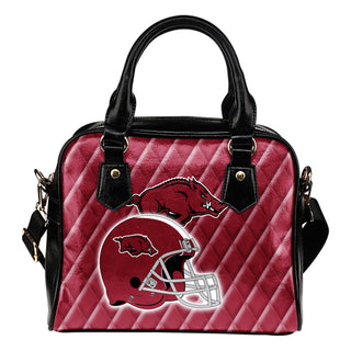 Couple Helmet Enchanting Logo Arkansas Razorbacks Shoulder Handbags