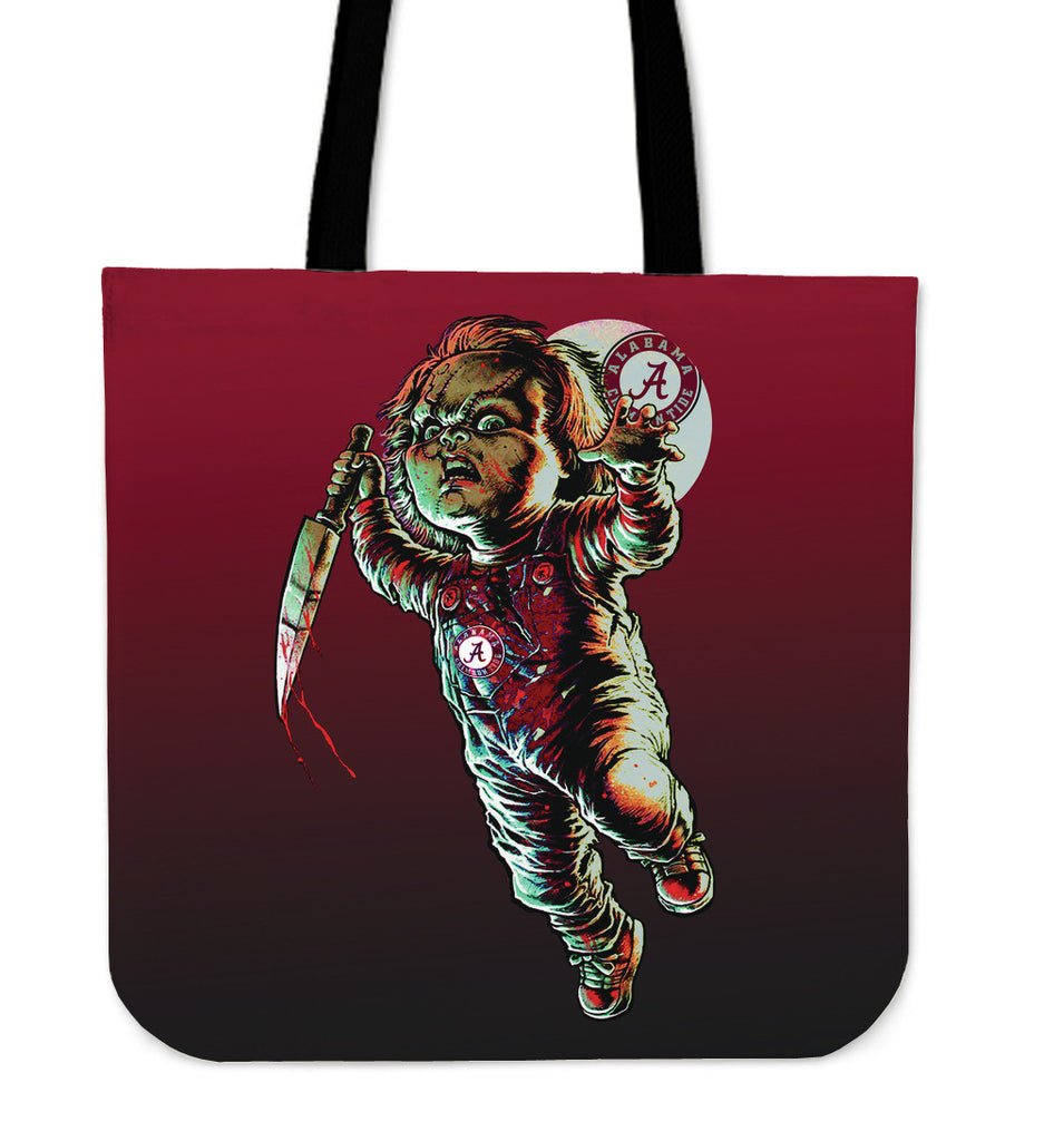 Chucky Alabama Crimson Tide Tote Bag - Best Funny Store