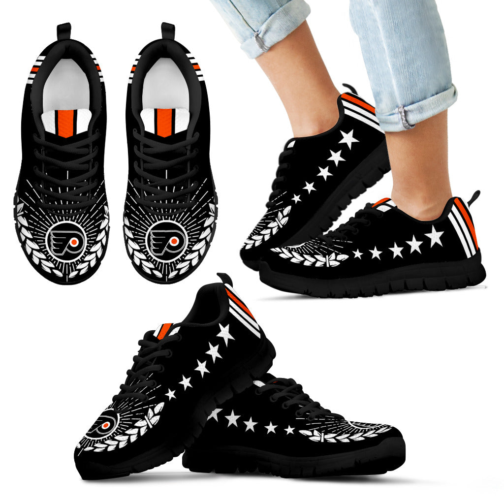 Line Of Stars Victory Philadelphia Flyers Sneakers