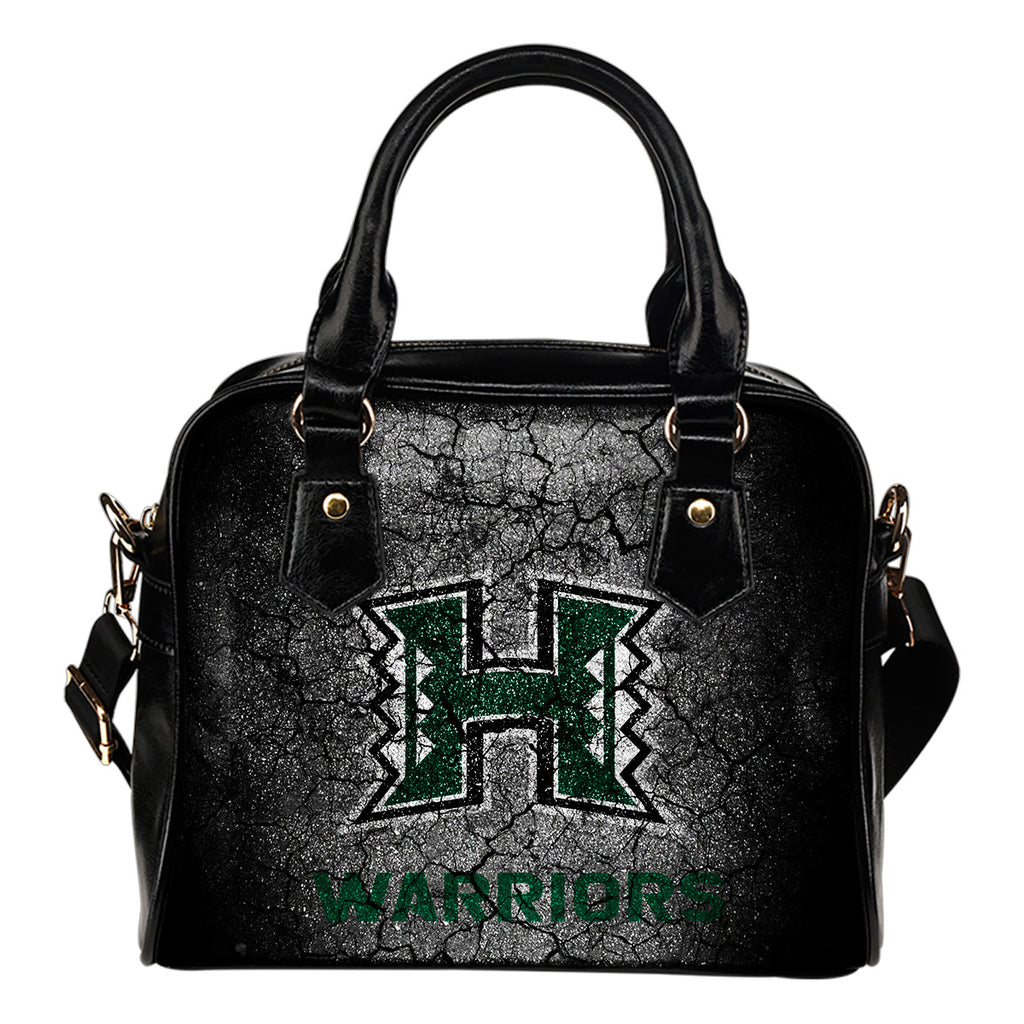 Wall Break Hawaii Rainbow Warriors Shoulder Handbags Women Purse