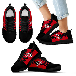 Doodle Line Amazing Carolina Hurricanes Sneakers V2