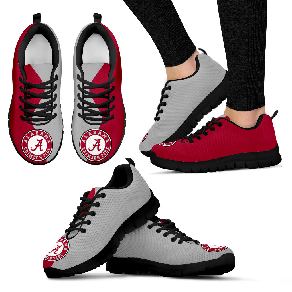 Two Colors Trending Lovely Alabama Crimson Tide Sneakers