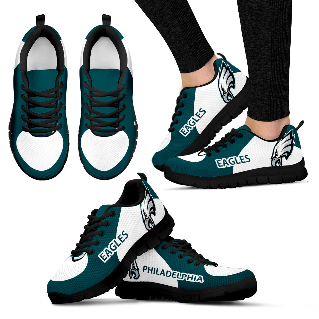 Philadelphia Eagles Top Logo Sneakers
