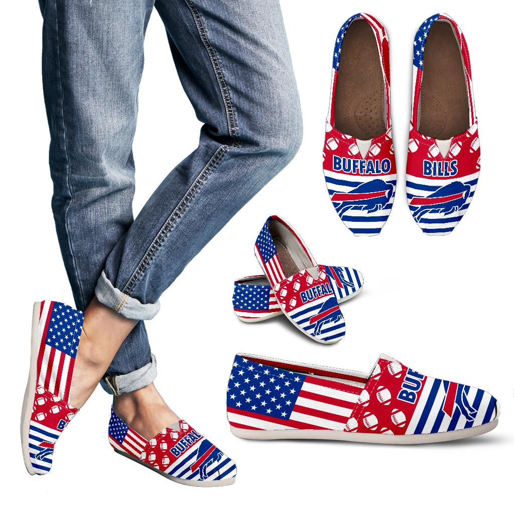 American Flag Buffalo Bills Casual Shoes