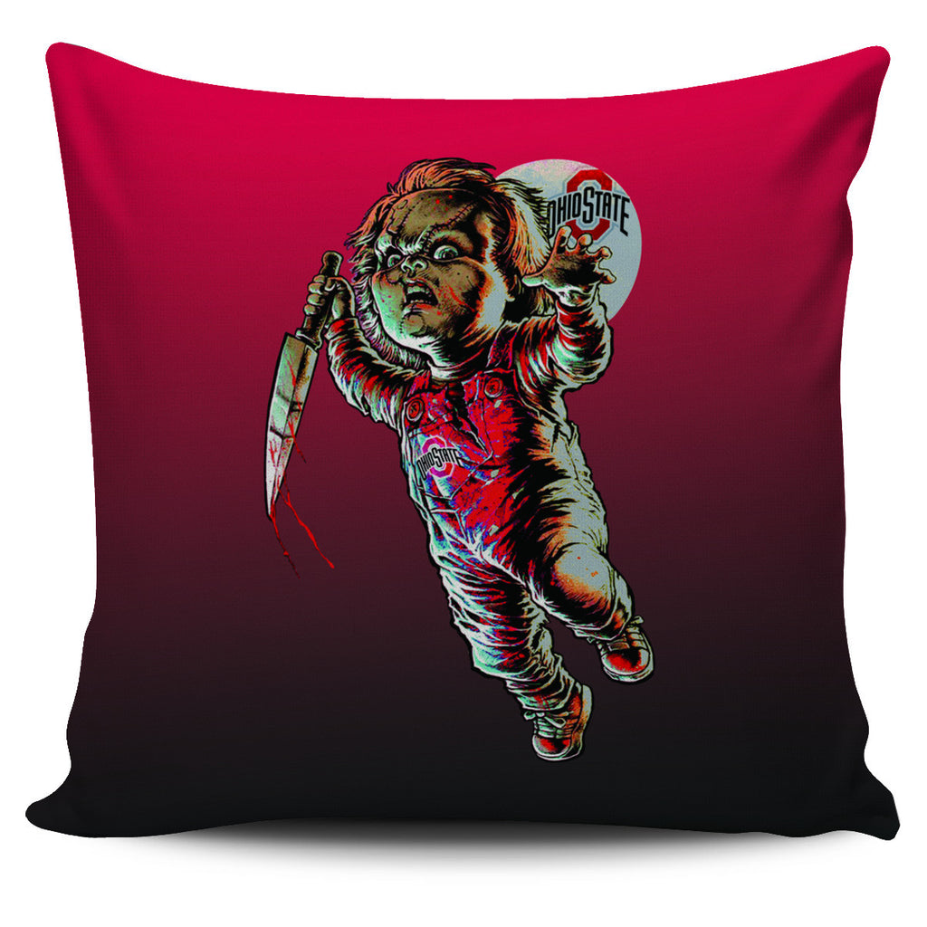 Chucky Ohio State Buckeyes Pillow Covers - Best Funny Store