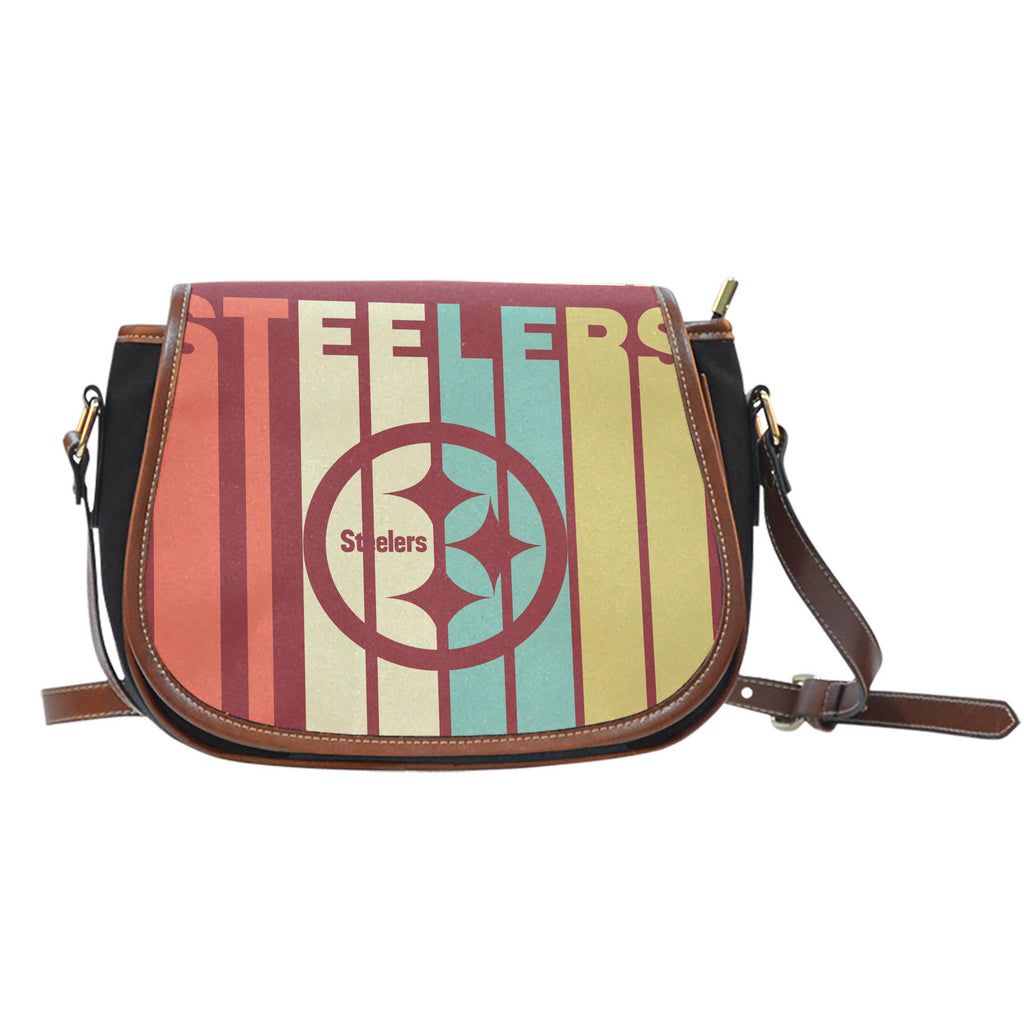 Vintage Style Pittsburgh Steelers Saddle Bags - Best Funny Store